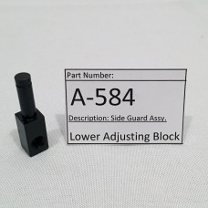 Lower Adjusting Block (A-584)