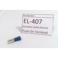 Push-On Terminal (EL-407)